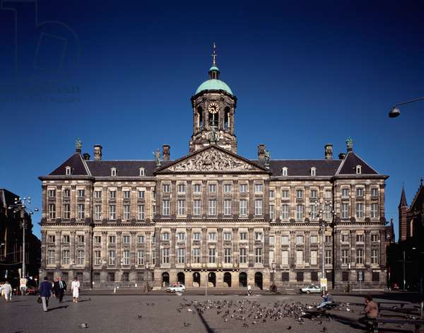 View of the Royal Palace, 1990 ca Photography