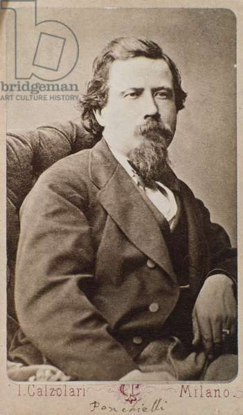 Portrait of Amilcare Ponchielli (1834-1885) italian composer