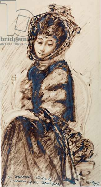 For mummy, 1940 (oil on paper)