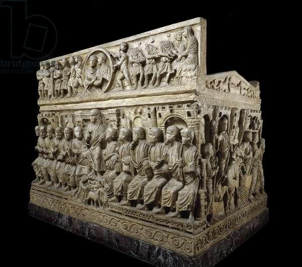 Sarcophagus of Flavius Stilicho, c.359-408 (marble)