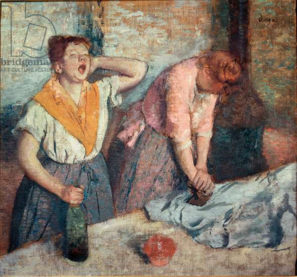 Painting ironers, 1884/86 (oil on canvas)