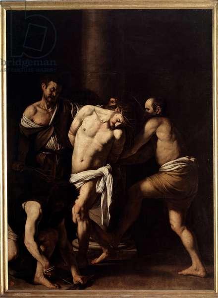 Flagellation of Christ, 1607-10 (oil on canvas)