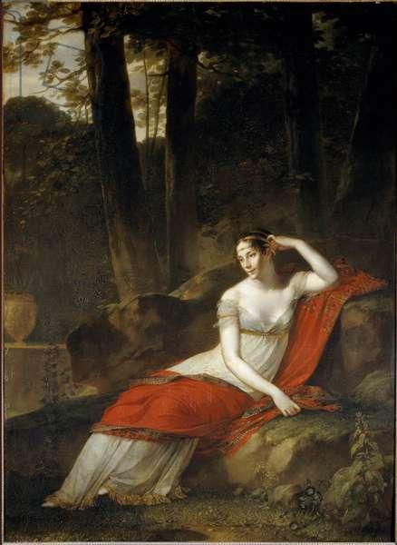 Portrait of the Impress Josephine (1763-1814) (by Beauharnais) - Painting by Pierre Paul Prud'Hon (1758-1823), 1805 - Paris, Musee du Louvre