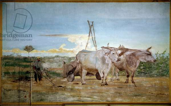 The animal manure collected (oil on canvas, 1868)