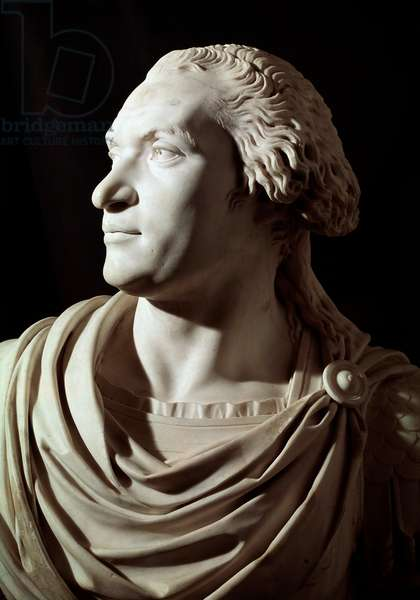Charles Pichegru, General in Chief of the Army of the North, detail. 18th-19th century (sculpture)