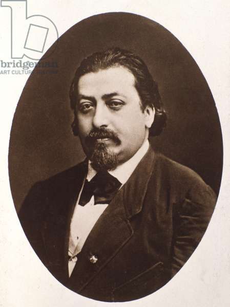 Portrait of polish composer Henryk Wieniawski (1835-1880)