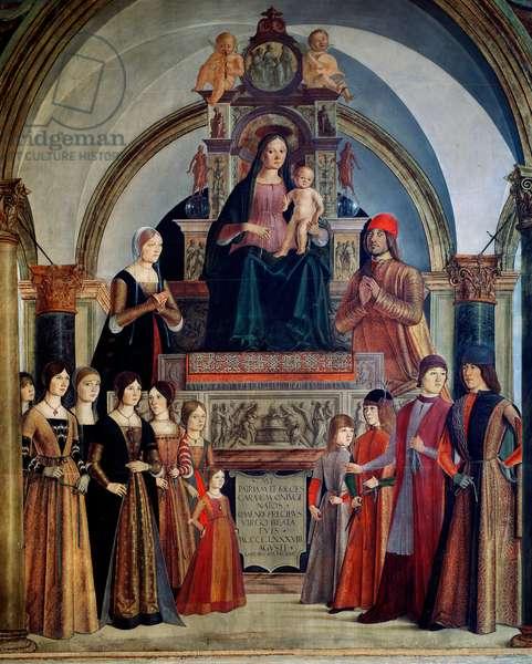 The Virgin of the Bentivoglio, 1488 (painting)