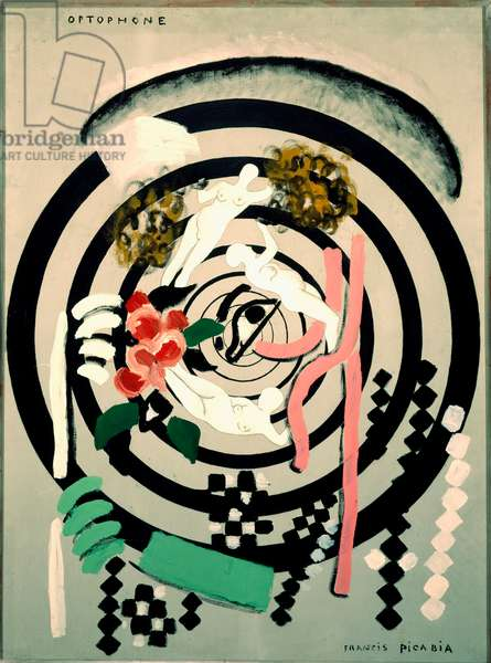 Optophone II Painting by Francis Picabia (1879-1953) 1922-1924 Sun. 116x88 cm Paris, Musee National d'Art Moderne, Centre Georges Pompidou