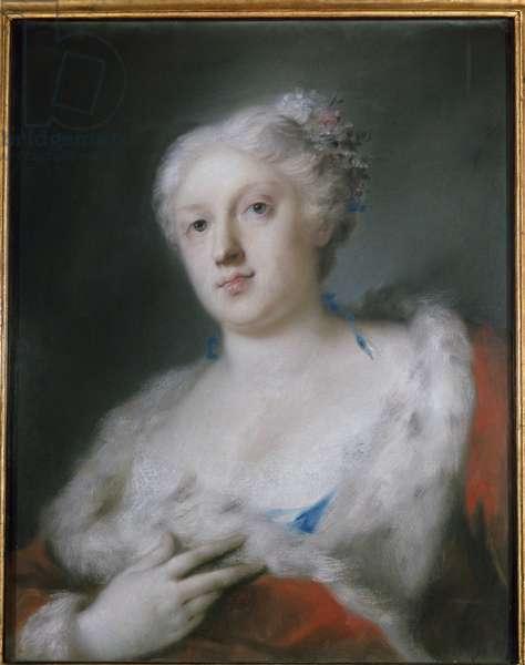 Self Portrait (Self-Portrait) Painting by Rosalba Carriera (1675-1757) Turin, Galleria Sabauda