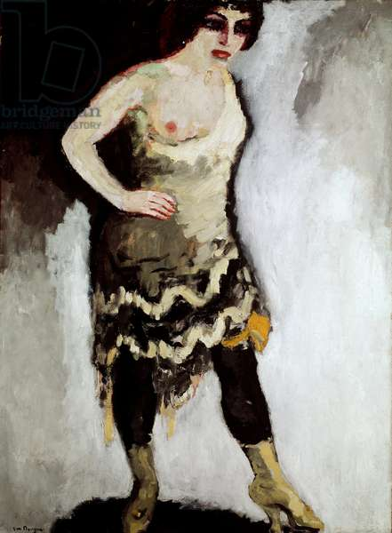 The Acrobat Woman Shorts Painting by Kees Van Dongen (1877-1968) 1910 Paris, National Museum of Modern Art