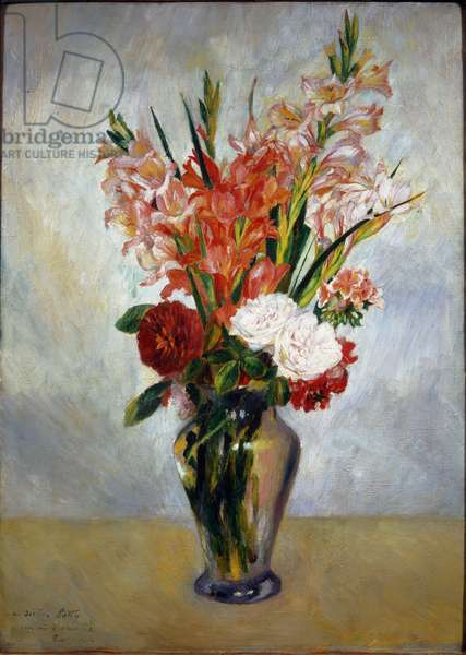 The Gladiolas, 1885 ca - Oil on canvas