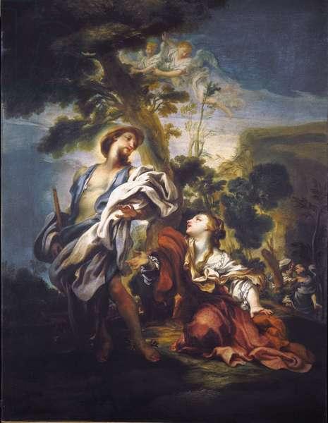 Noli Me Tangere Painting by Gregorio De Ferrari (1647-1726), Genes, Musei di Strada Nuova