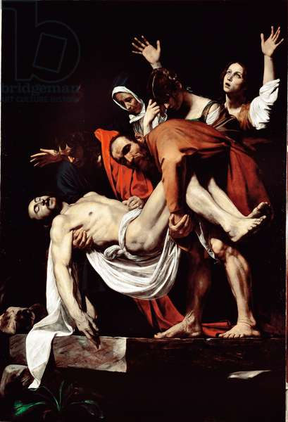 The tomb (deposition of the cross). 1602-1604 (Oil on canvas)
