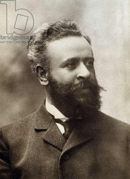 Portrait of Alberto Franchetti (1860-1942) italian composer