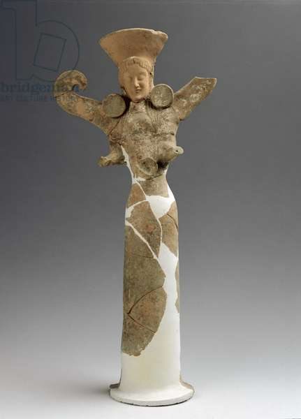 Female statuette reassembled and integrated, from San Biagio alla Venella (Bernalda MT) extra-urban sanctuary