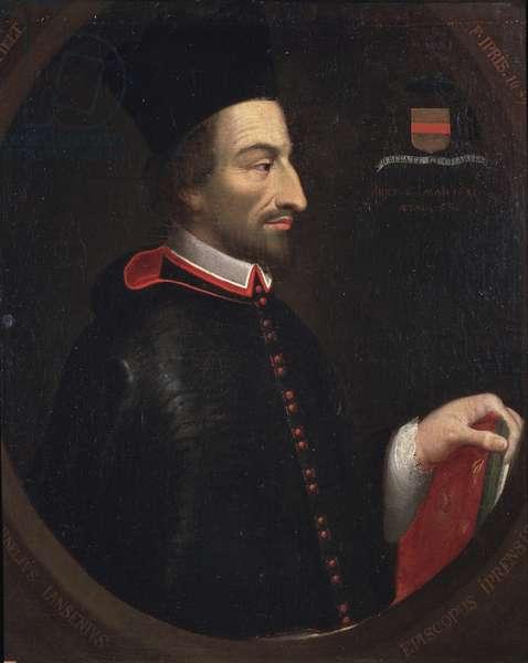Portrait of Cornelius Jansen, called Jansenius, bishop of Ypres (oil on canvas, 1659)