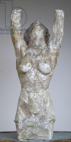 Hermaphrodite, c.1915-18 (chalk)