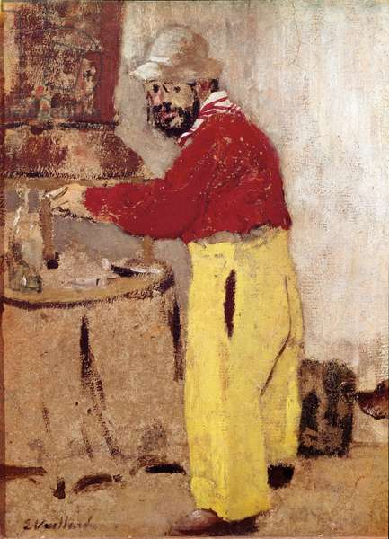 Portrait of the painter Henry of Toulouse Lautrec (Toulouse-Lautrec) (1864-1901)