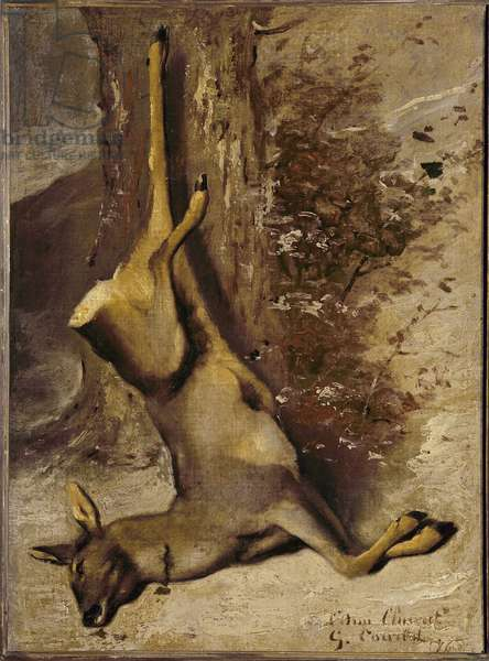The deer, 1876 (oil on canvas)