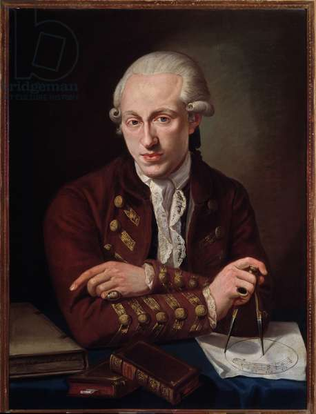Portrait of Thomas Christian Walther (1749-1788) danish composer.