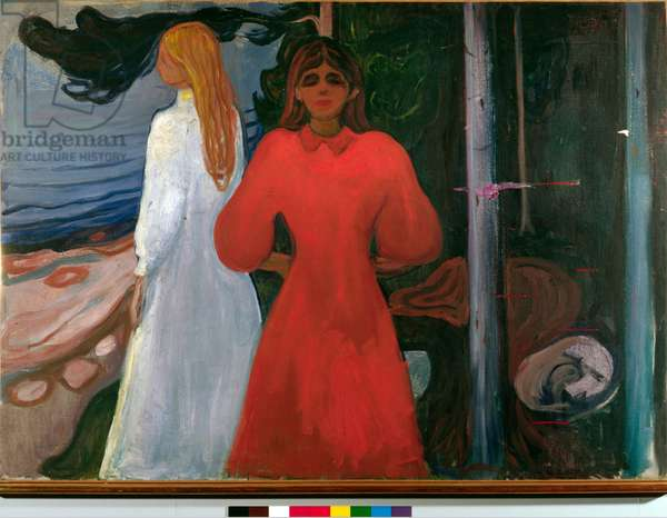 Red and white, 1899-1900 (oil on canvas)