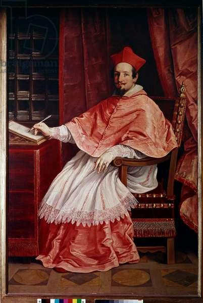 Portrait of Cardinal Bernardino Spada (Painting, 1631)
