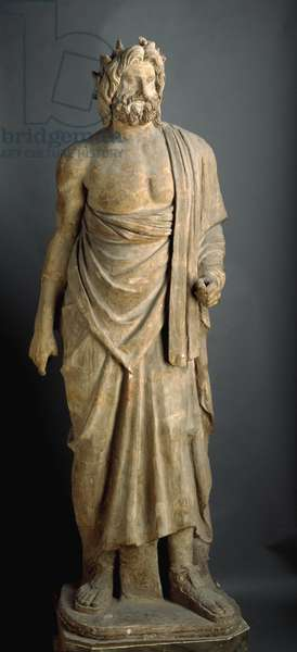 Statue of the so-called Zeus Meilichios (= Meilichius) , from Pompei, Tempietto (small temple) so-called of Zeus Meilichios