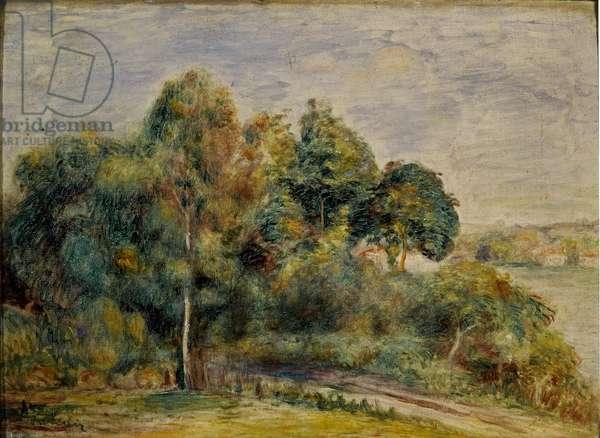 Landscape, circa 1900 (Oil on canvas)