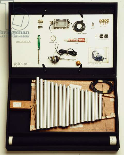 Musik kit xylophon, 20th century (assembly)
