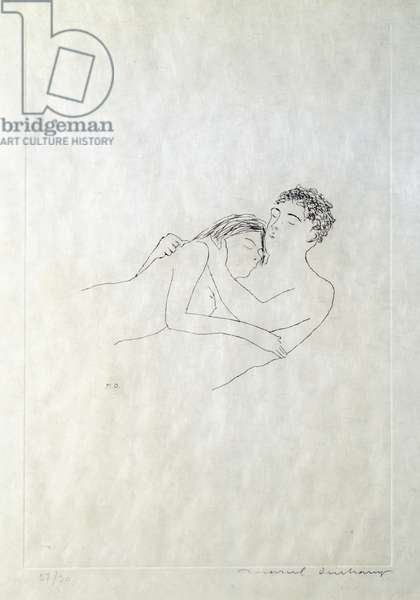 After love, 1967 (etching)