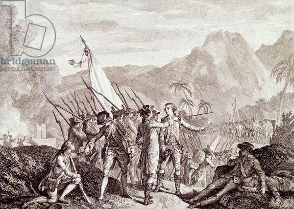 The Invasion of Tobago (engraving)