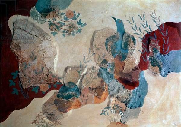 Blue Bird. 1500 BC. (fresco)