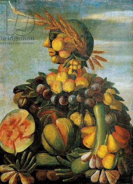 The Summer Painting of the workshop of Giuseppe Arcimboldo (Arcimboldi, 1527-1593), 16th century. Museo Bardini Fienze