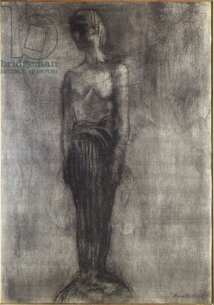 Pain, 1918 (charcoal on paper)