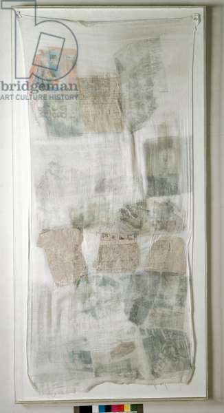 Untitled (Untitled) Mixed media by Robert Rauschenberg (1925-2008) 1974 Dim 200x100 cm Private collection