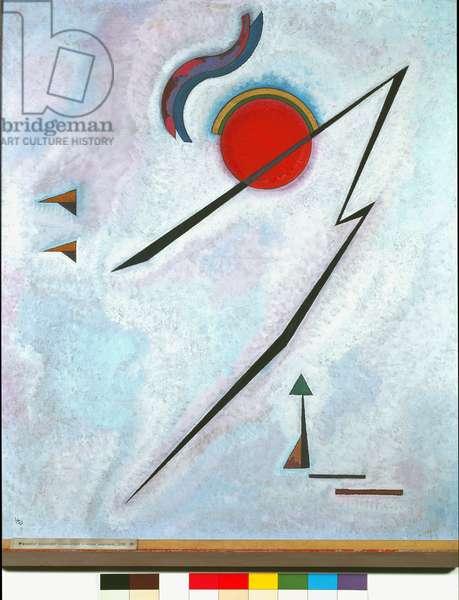 Angular Line Painting by Vassily Kandinsky (or Wassily Kandinski or Kandinskij, 1866-1944) 1930 Rome Galleria Nazionale d'Arte Moderna