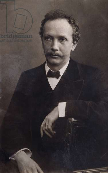 Portrait of Richard Strauss (1864-1949) german composer.