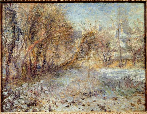 Snowy Landscape, 1875 (oil on canvas)