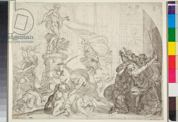 The massacre of the innocent, drawing