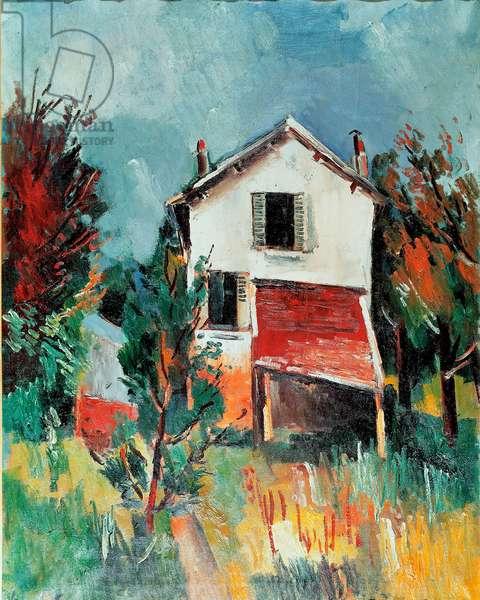 The artist's house in Valmondois. 1920 (Oil on canvas)