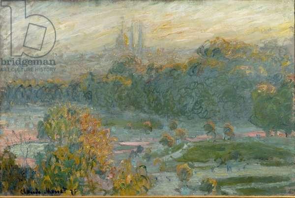 Les Tuileries, study, 1875. Oil on canvas
