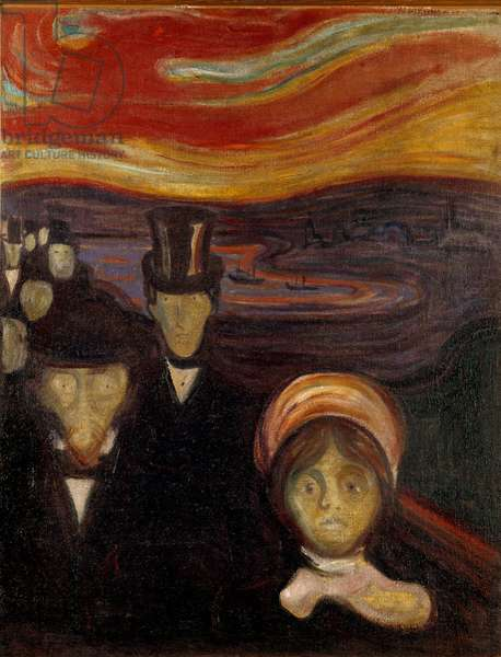 The anxiety, 1894 (oil on canvas)