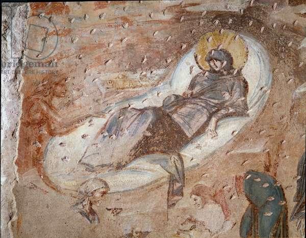 Nativite (fresco 6th-7th century)