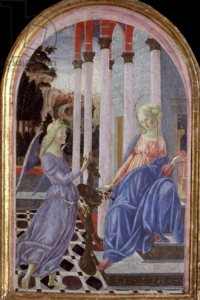 Annunciation - Painting, 1470-1471