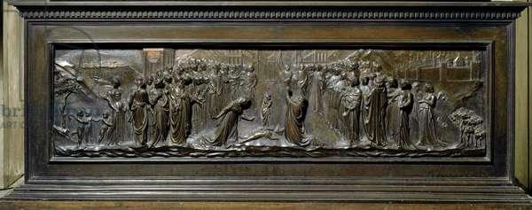 Reliquary of Saint Zenobius, 1432-1442 (low bronze relief)