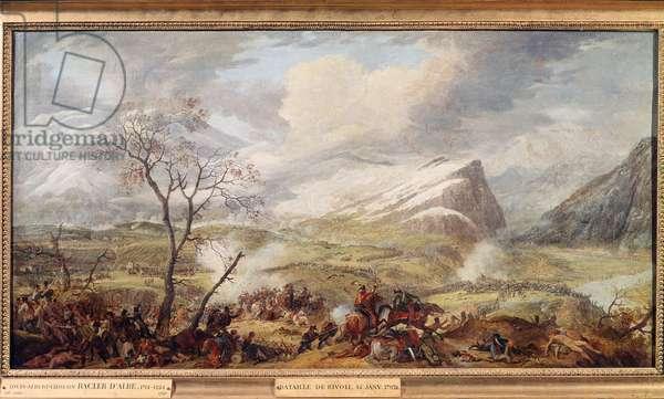 The battle of Rivoli, January 14, 1797 (Painting)