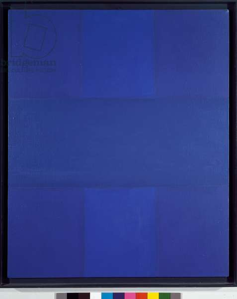 Abstract painting Painting by Ad Reinhardt (1913-1967) 1967 Sun 76x76 cm Private Collection