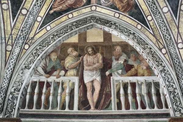Ecce Homo Fresco by Gaudenzio Ferrari (1475 ca-1546) 1542 Milan, Basilica di Santa Maria delle Grazie Italy