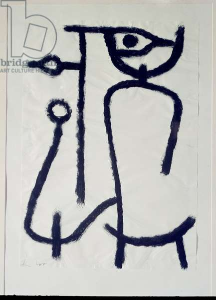 Woman aside (Drawing, 20th century)