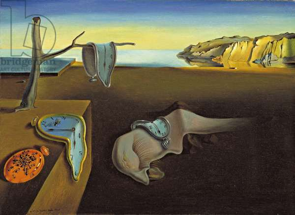 Persistence of memory (Soft Watches). Painting by Salvador dali (1904-1989), 1931. Oil on canvas. New York, Museum of Modern Art (MOMA).